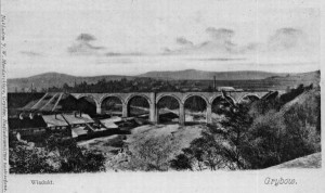 Wiadukt kolejowy w Grybowie